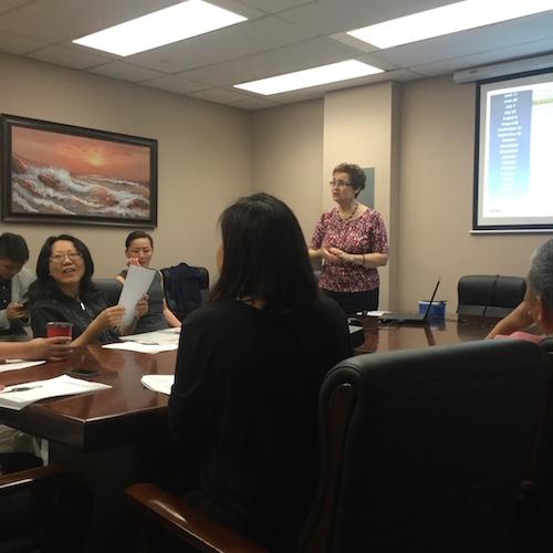 The Profit Centre Group Training Session