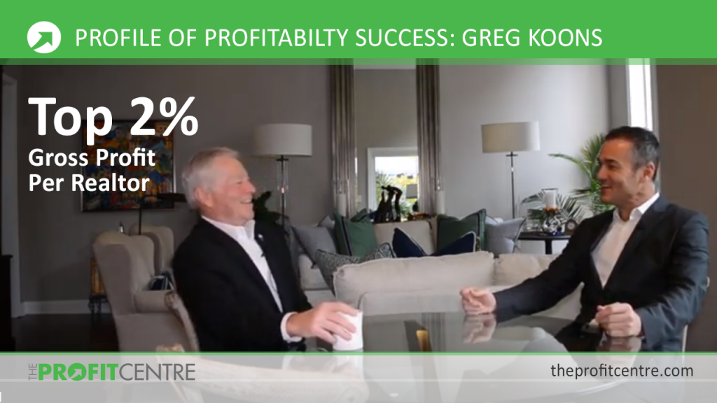 Profiles of Profitability Success - Greg Koons